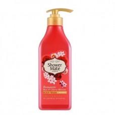 """Гель для душа KeraSys Shower Mate (Шауэр Мэйт) """"Роза и вишневый цвет"""""""