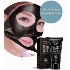 Bioaqua маска-пленка на основе бамбукового угля против черных точек