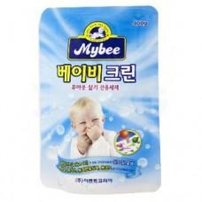 Mybee Стиральный порошок для одежды и белья новорожденных (Бэйби Клин) 400 гр (пакет)