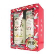 SPR Natvra Набор подарочный по уходу за волосами шампунь + кондиционер