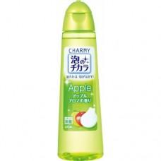 Жидкость для мытья посуды Charmy с ароматом яблока / LION / 250 мл.