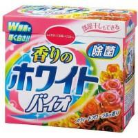 """""""White Bio Sweet Floral"""" Стиральный порошок с отбеливающей, дезодорирующей и смягчающей функцией, сладкий цветочный аромат, 900 г."""