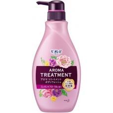 """Увлажняющий и смягчающий гель для душа с ароматом цветов и фруктов КAO """"Biore U"""" Aroma Treatment, 480 мл"""