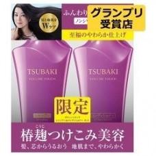 SHISEIDO TSUBAKI Volume Touch Набор для придания объема волосам Шампунь 500 мл. + Кондиционер 500 мл. для волос с маслом камелии